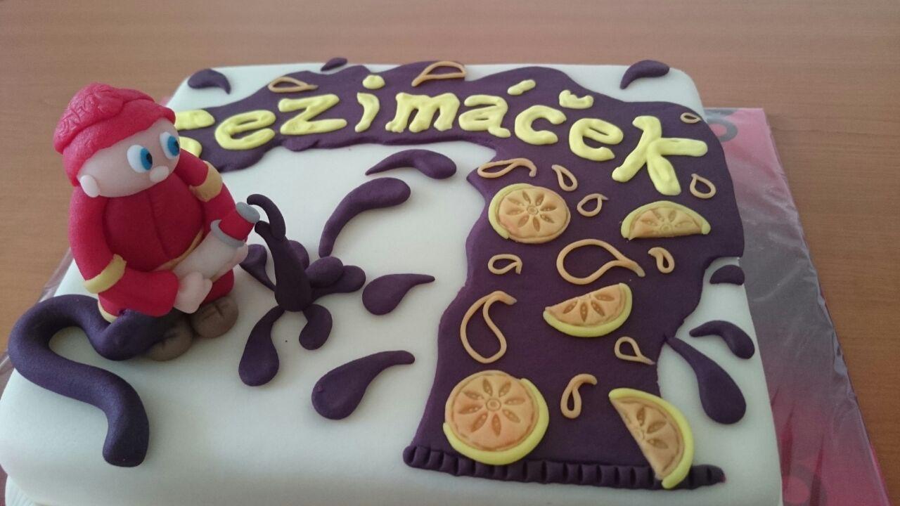 Sezimáček dort