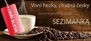 Sleva káva Sezimanka
